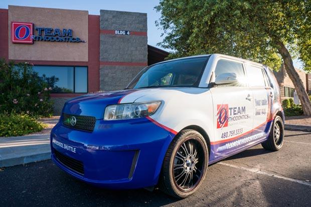 team orthodontics transportation